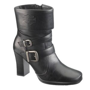 Harley Davidson 6.5 Leather Boots Booties